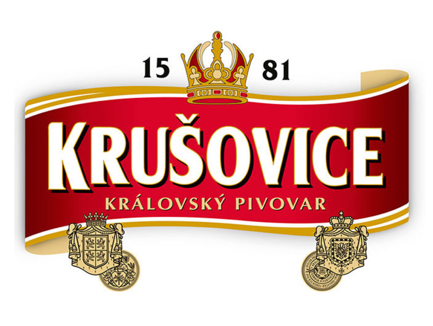 Логотип Krušovice
