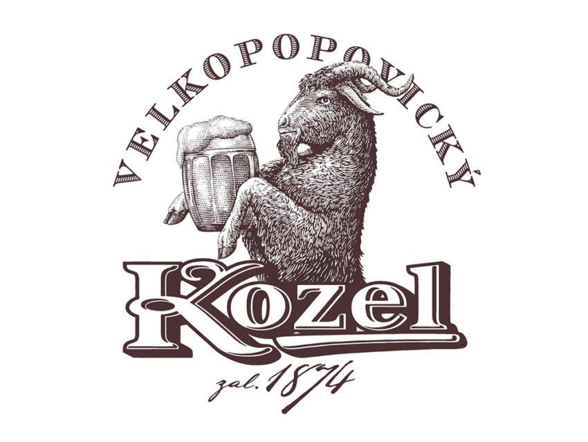 Логотип Velkopopovický Kozel