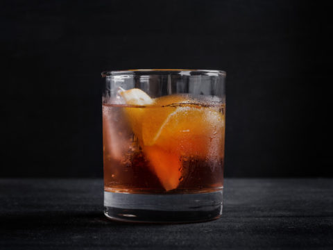 Фото коктейля Old fashioned