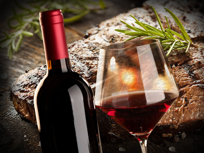 Вино к мясу