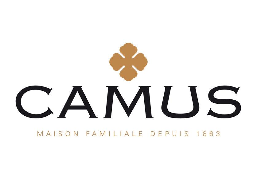 Логотип коньяка Camus (Камю)