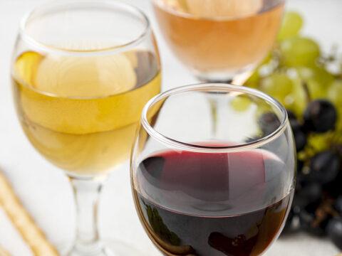 Разные виды вин
