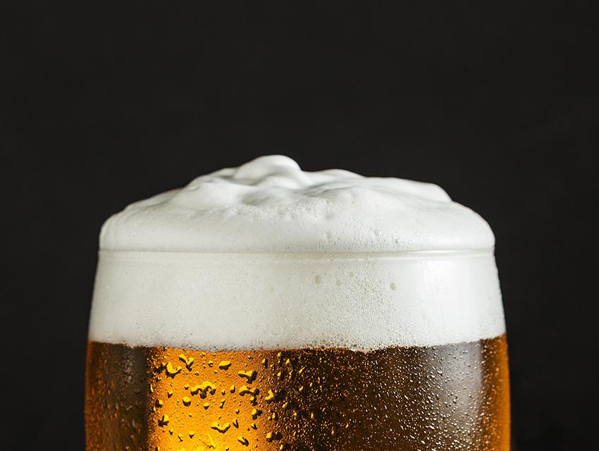 Пена пива