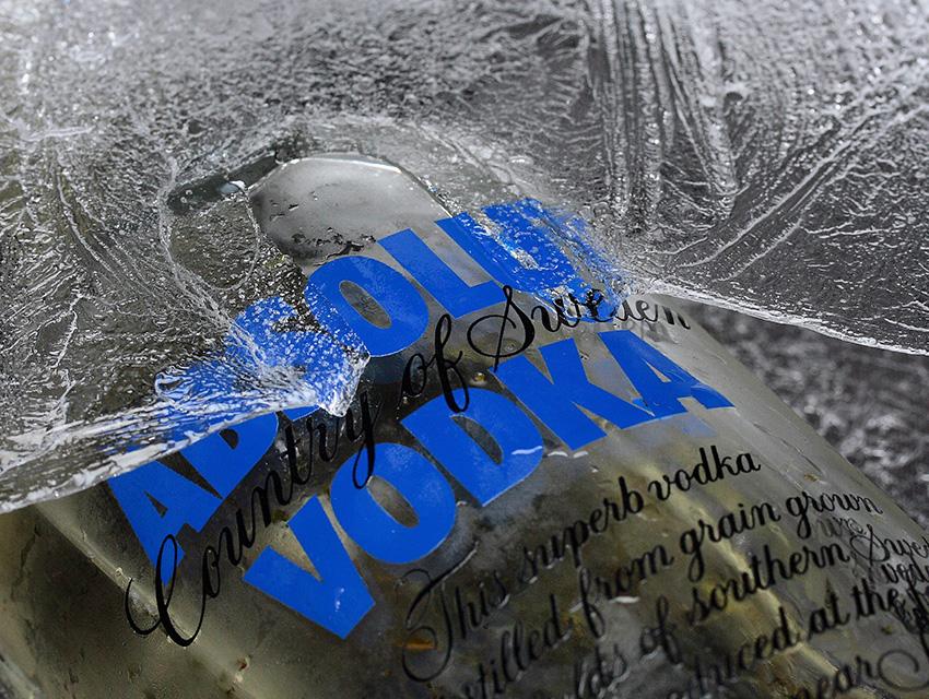 Водка из морозилки